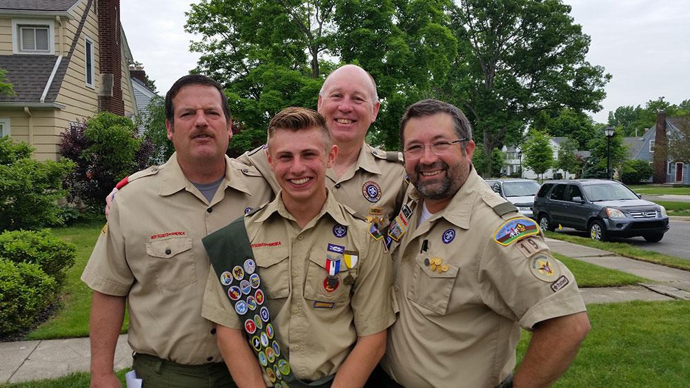 Boy Scouts of America volunteer.