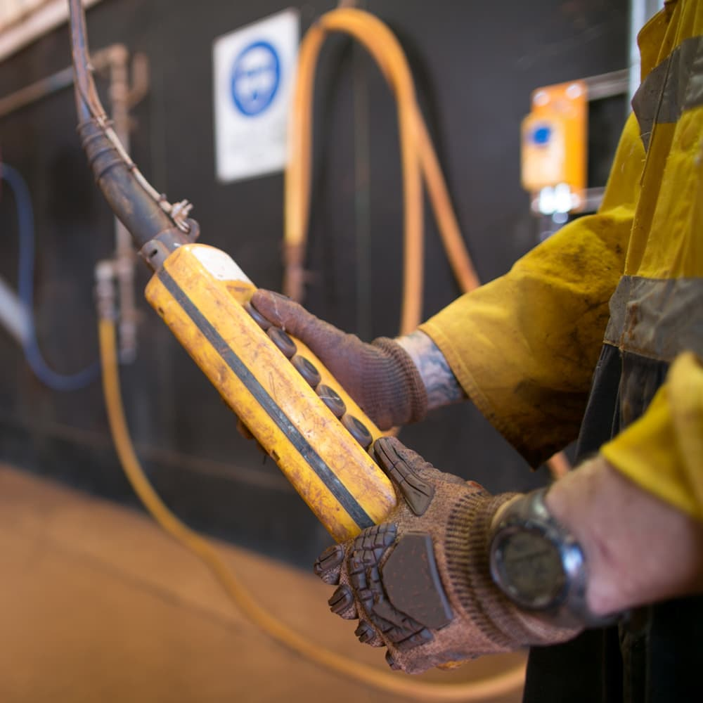 Electrician career in mining