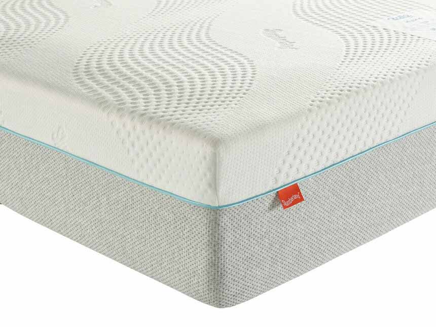 A close up of the Rollo Hybrid Mattress