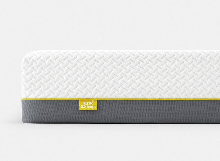 Close up of the Hyde & Sleep Lemon Mattress