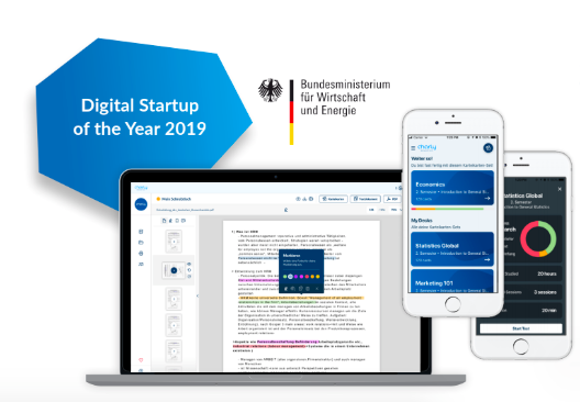 charly.education ist Digital Startup of the Year 2019