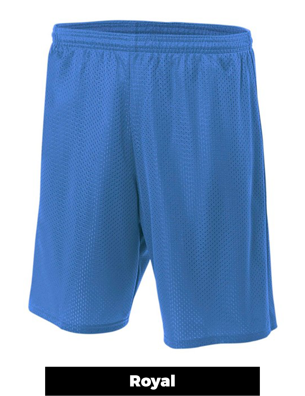 X-Small A4 Adult Moisture Wicking Tricot Performance Mesh Short Forest
