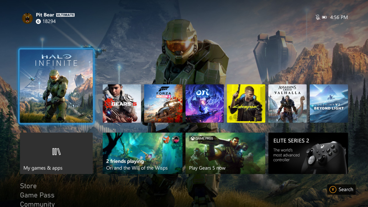 Xbox Series X Experience Hero