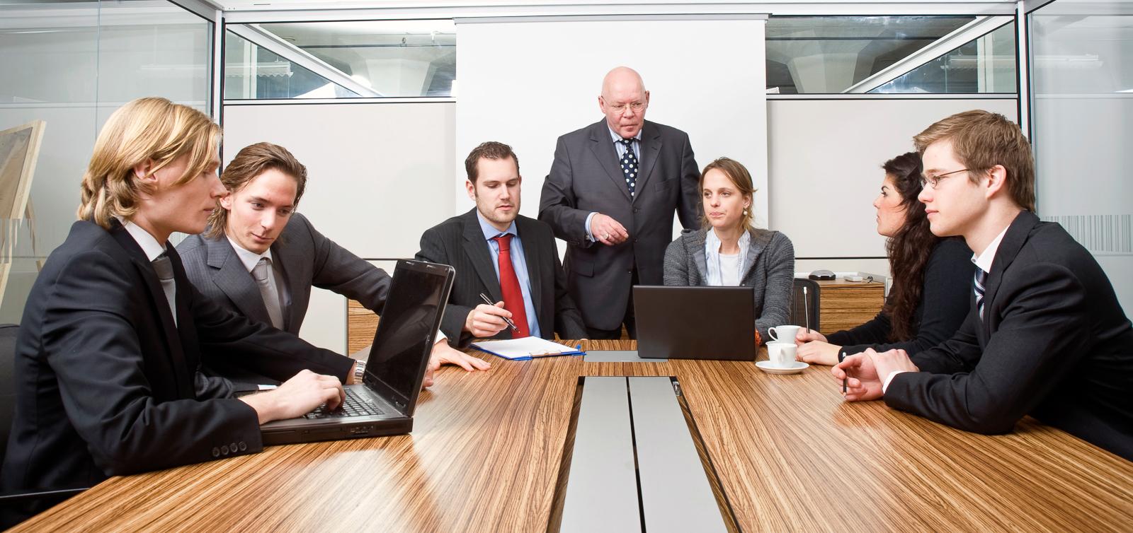 Boardroom meeting   Corepics Stock Production