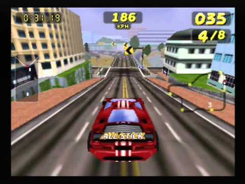San Francisco Rush [N64] Gameplay - YouTube