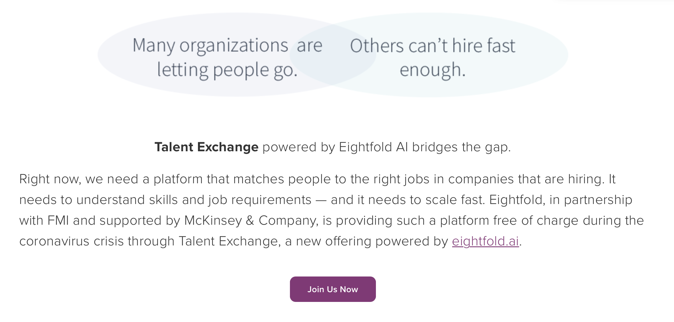 Eightfold Talent Exchange