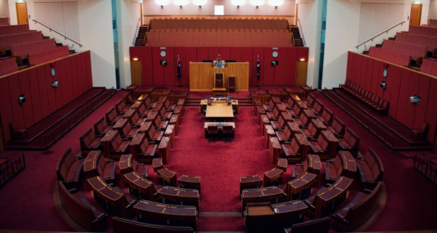 View of a empty civil court