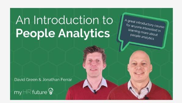 Online People analytics courses