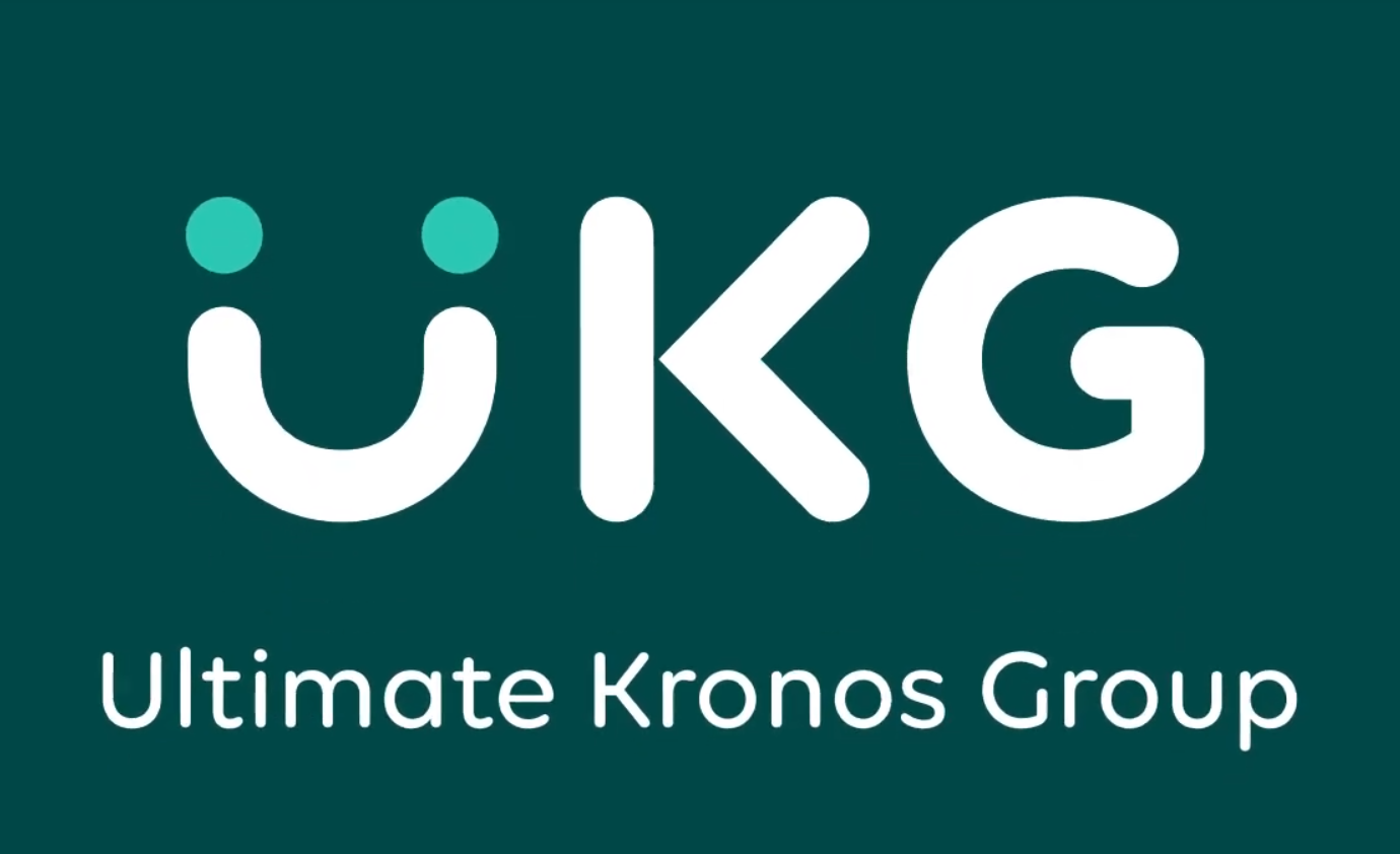rebrand of Kronos and Ultimate Software to UKG