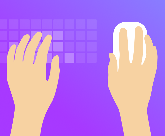 Left-handed shortcuts for the win in Whimsical Wireframes