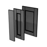 Java Matt graphite doors