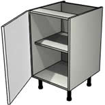 ashley light grey base unit