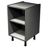 Belford Dust Grey open unit