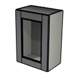 ashley dust grey glass unit