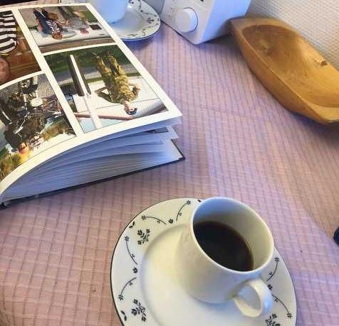 Kaffekopp og album