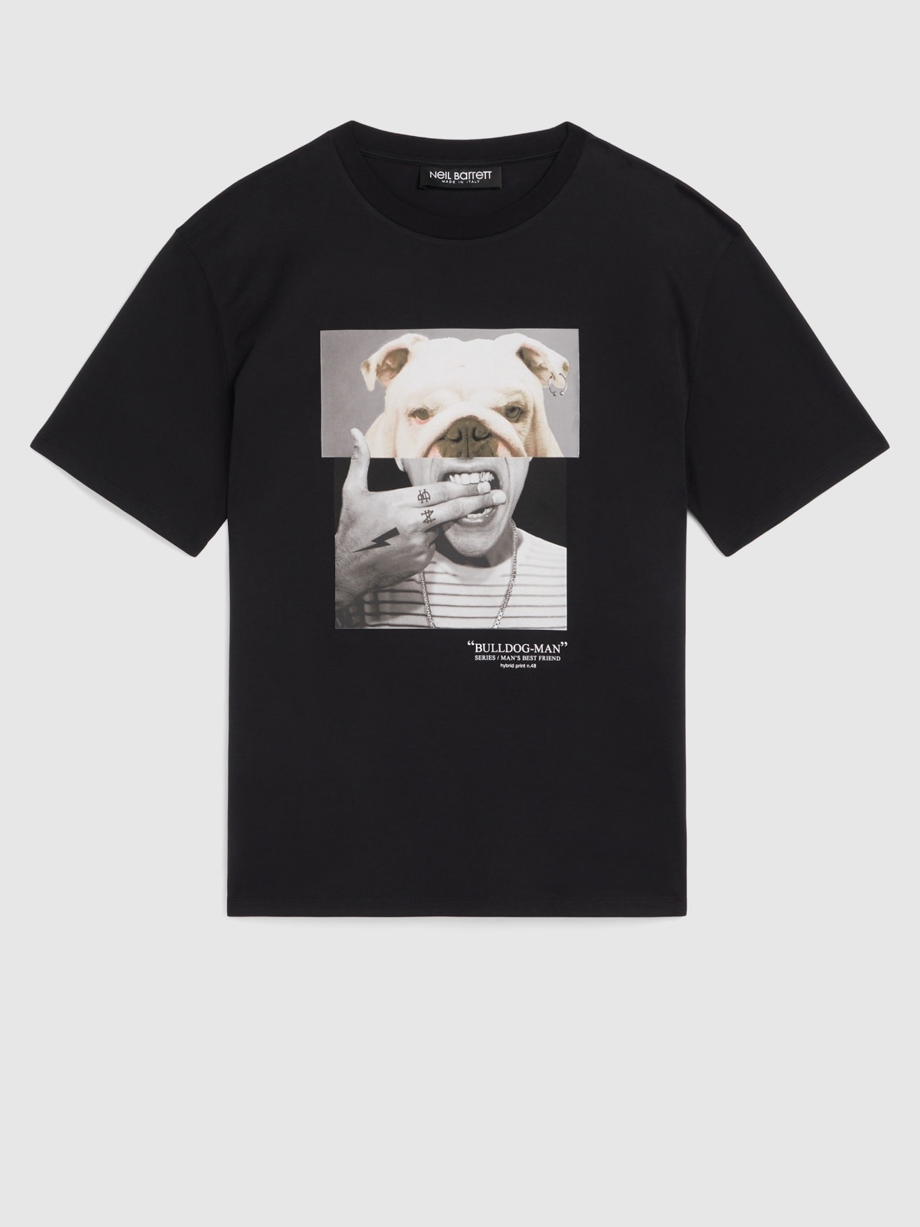 Bulldog/Man T-shirt