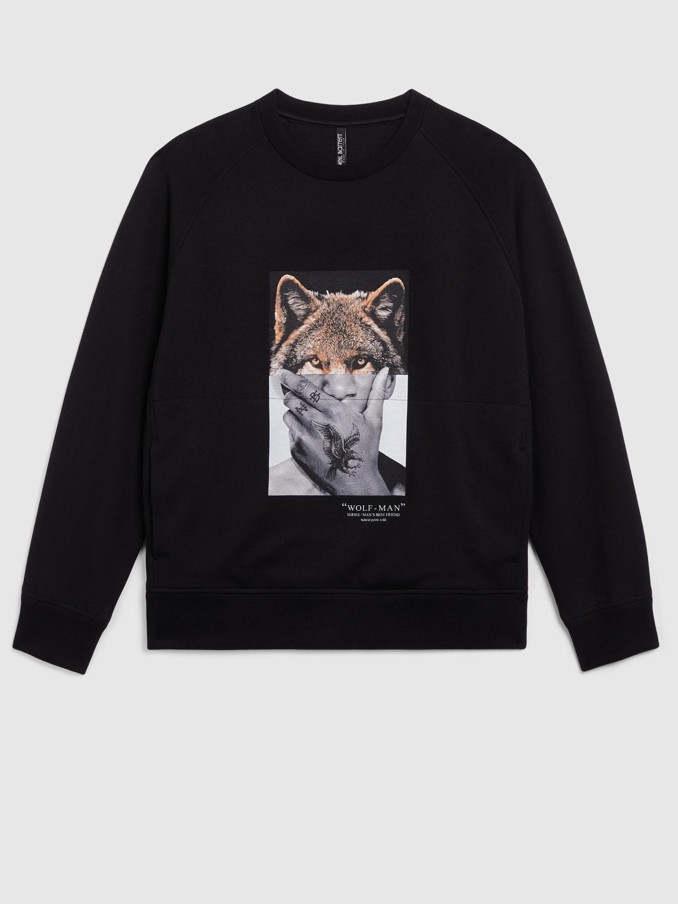 Wolf/Man Sweater