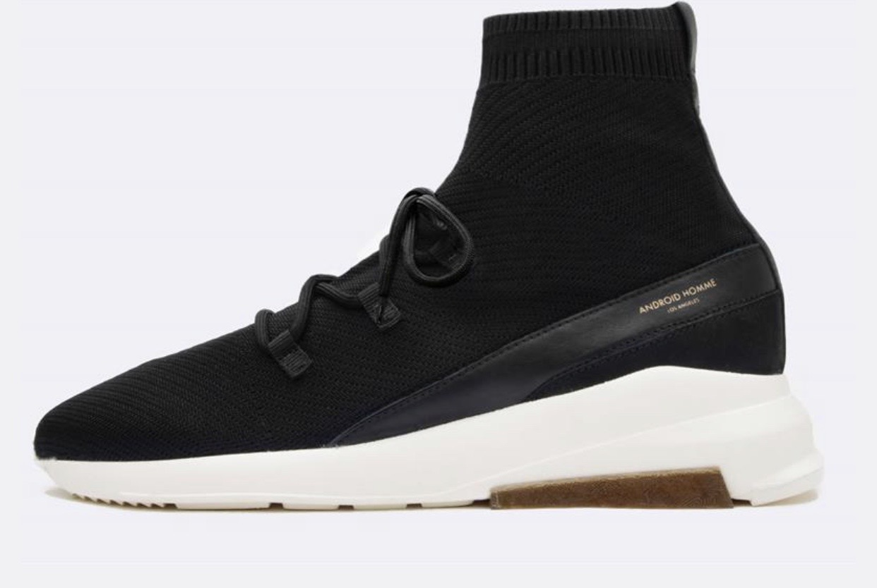 Redondo Black Sock Knit
