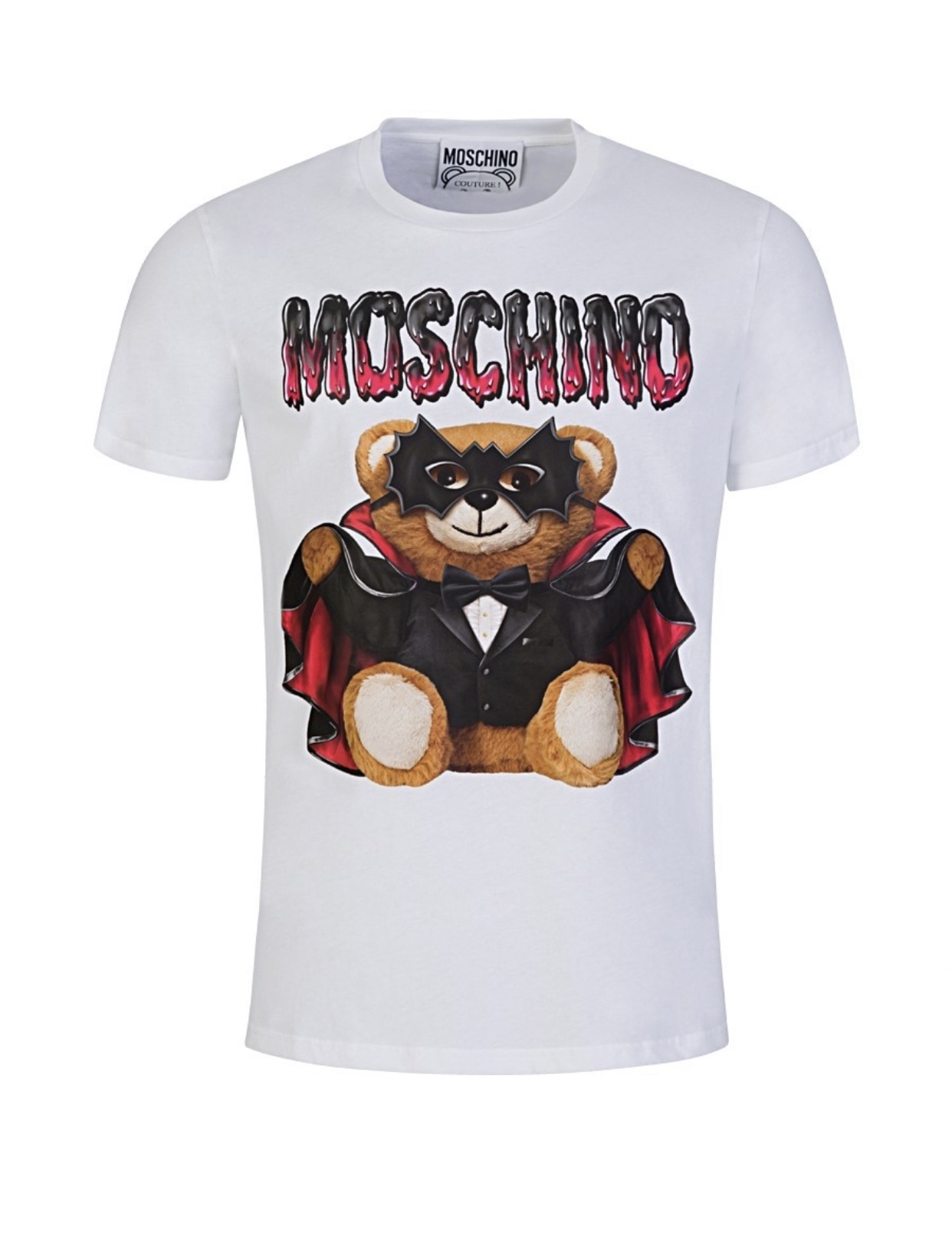 Teddy Print Cotton T-Shirt