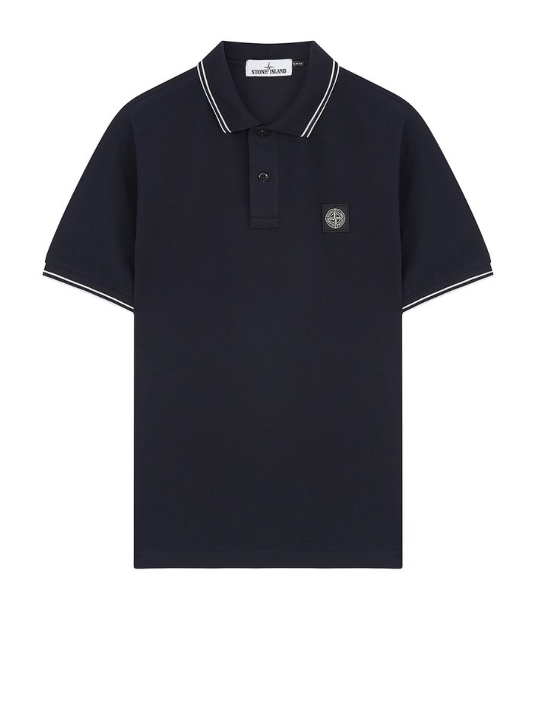 Polo Shirt In Navy Blue