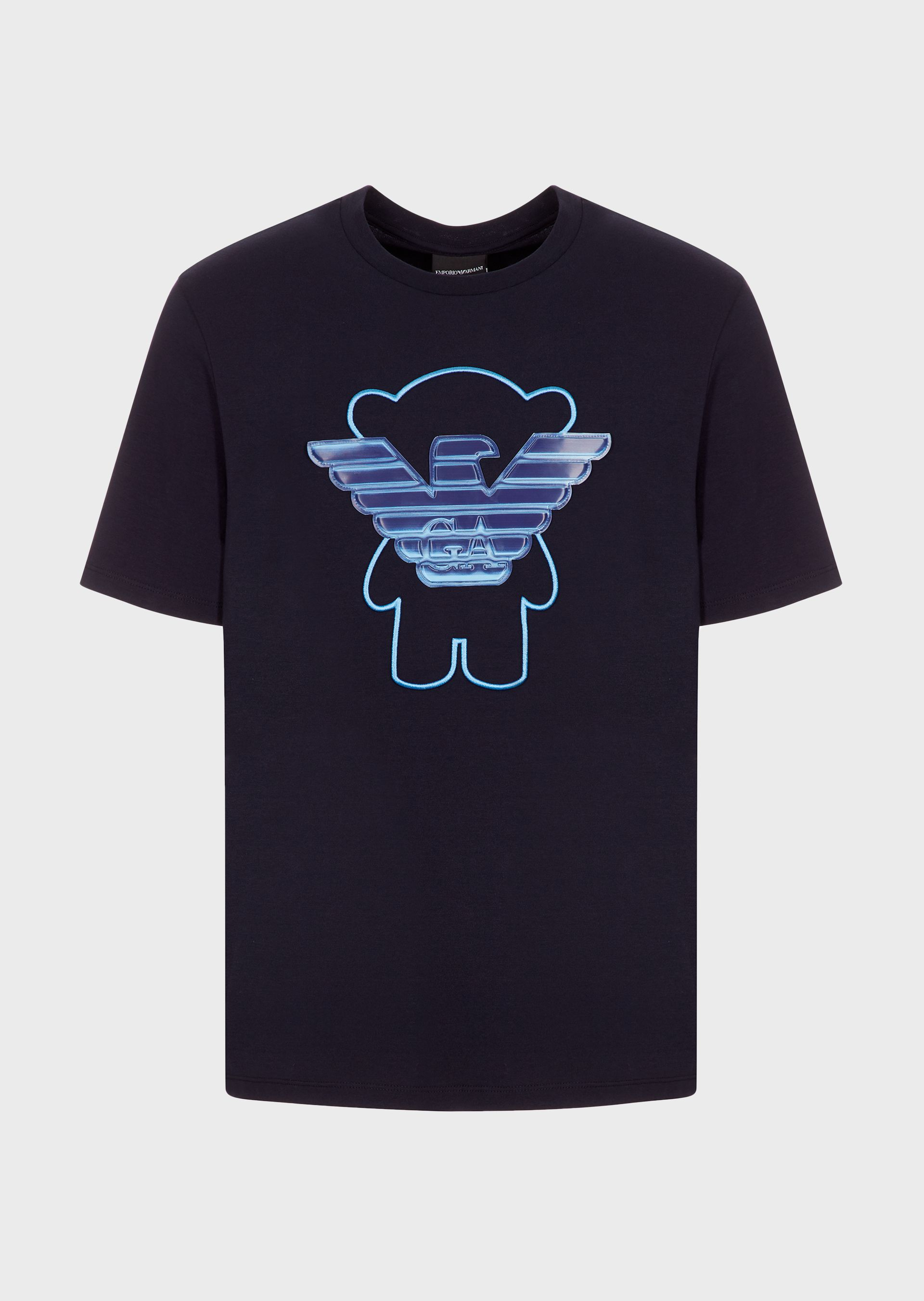 Blue teddy t-Shirt
