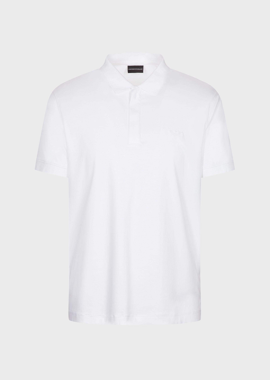 White zip polo