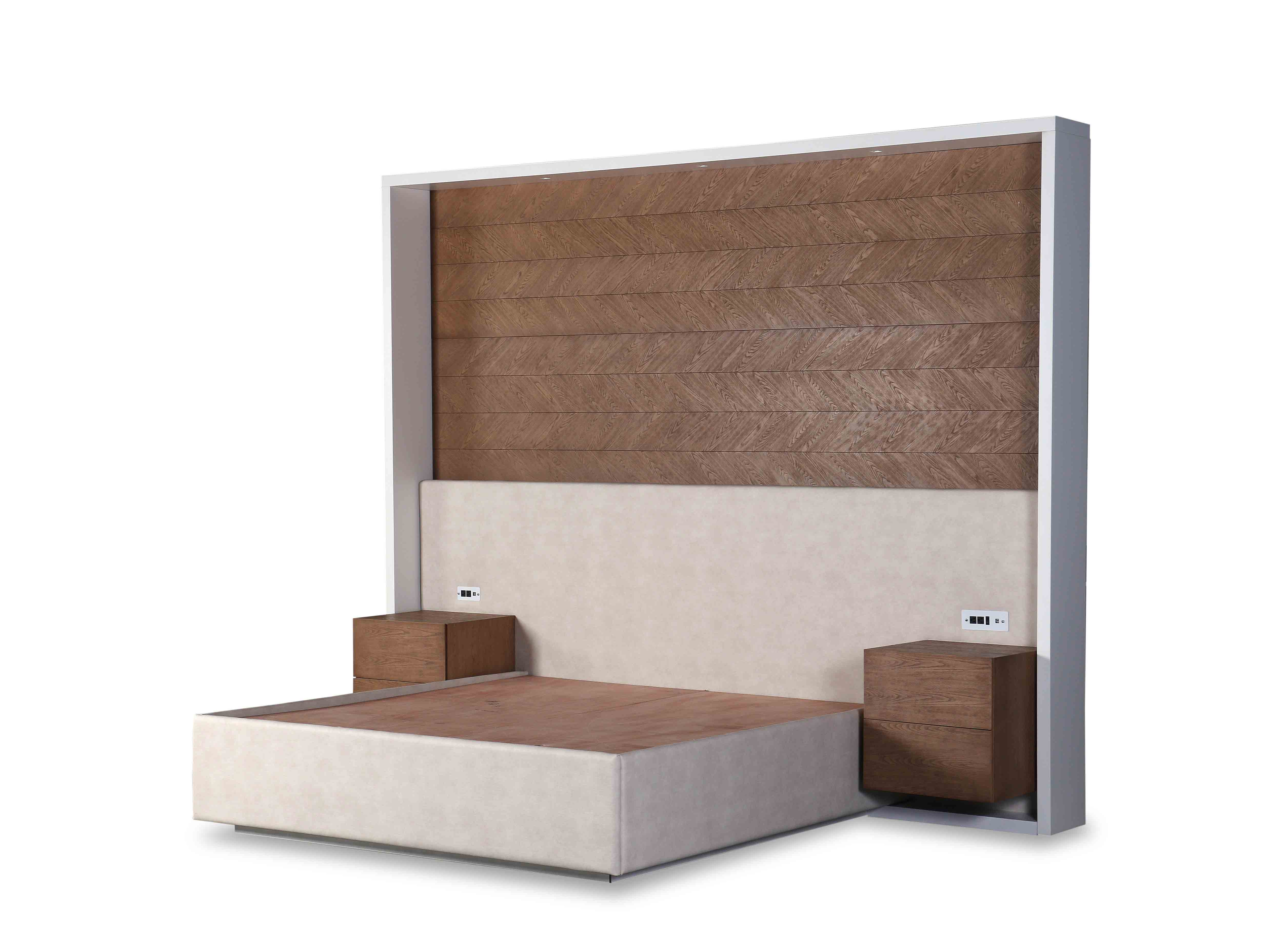 Headboard & Platform Bed BD-08