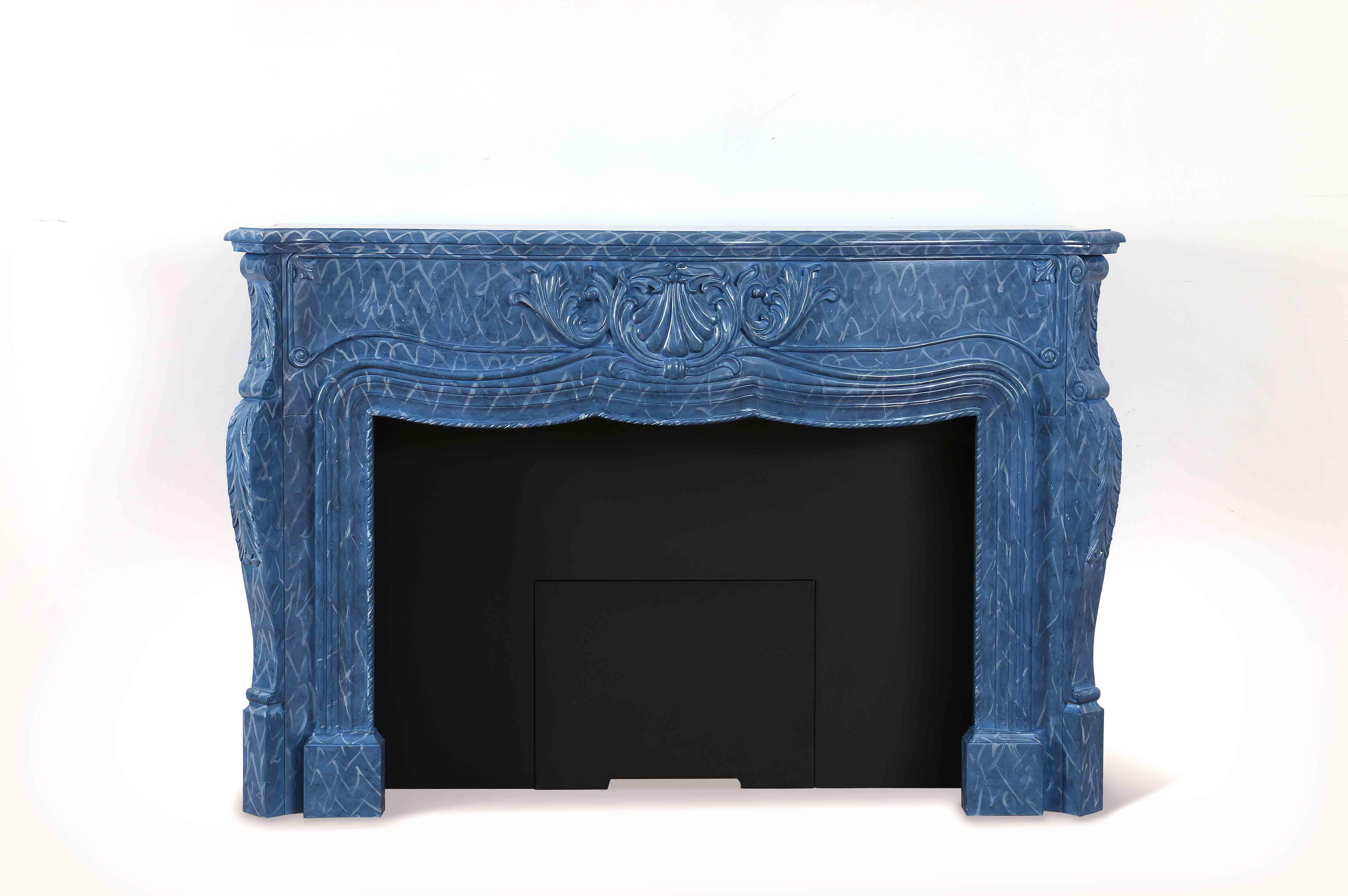 Faux Fireplace Mantel MT-01