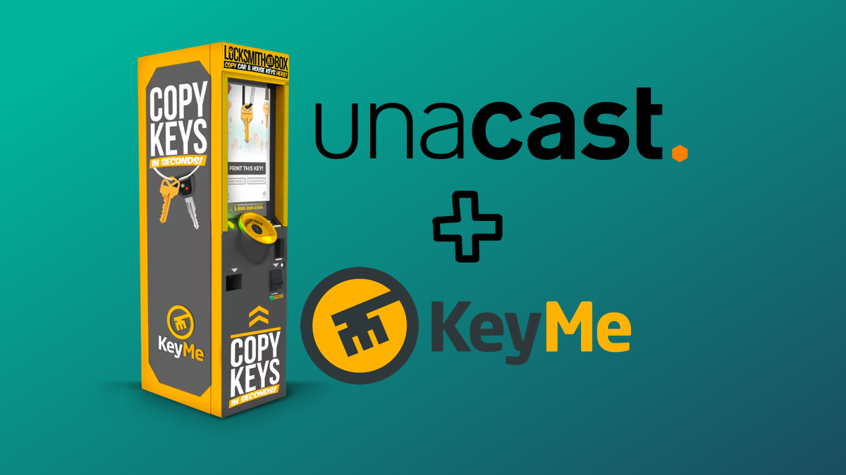 KeyMe Boosts Kiosk Revenue by Over 50% with Site Selection Insights from Unacast