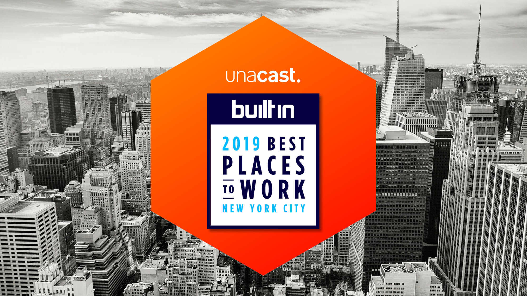 Unacast is Awarded Best Places To Work in NYC 2019