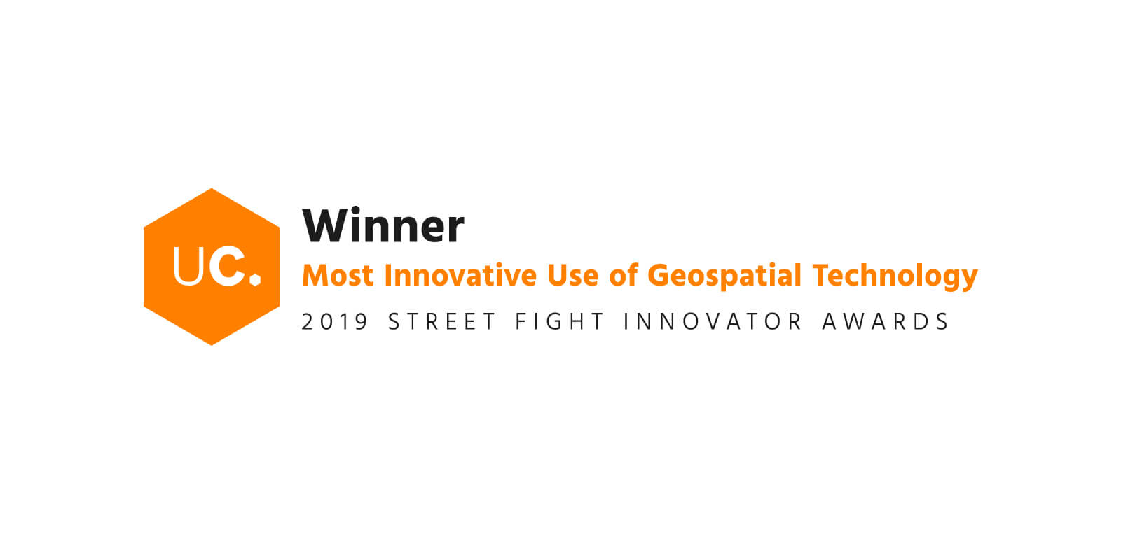 Most Innovative Geospatial Technology Award