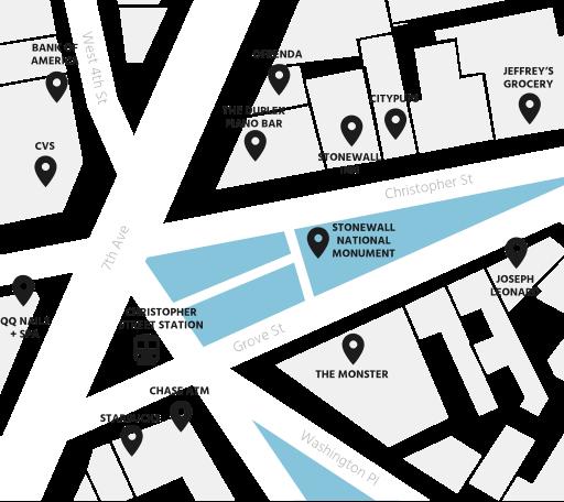 Map Brand Locatoins