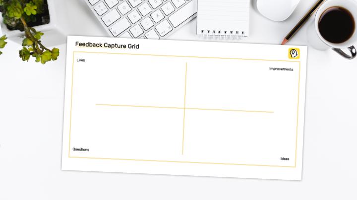 Feedback Capture Grid Preview Illustration