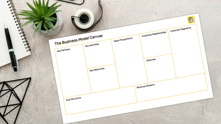 Business Model Canvas Preview Illustration