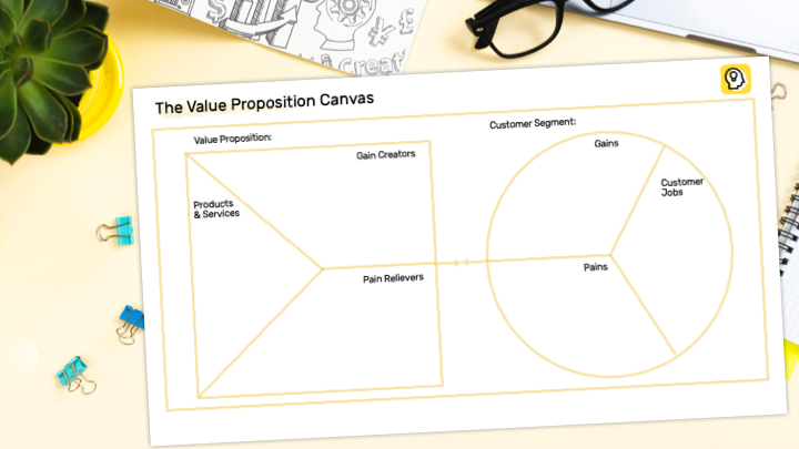 Value Proposition Canvas Preview Illustration