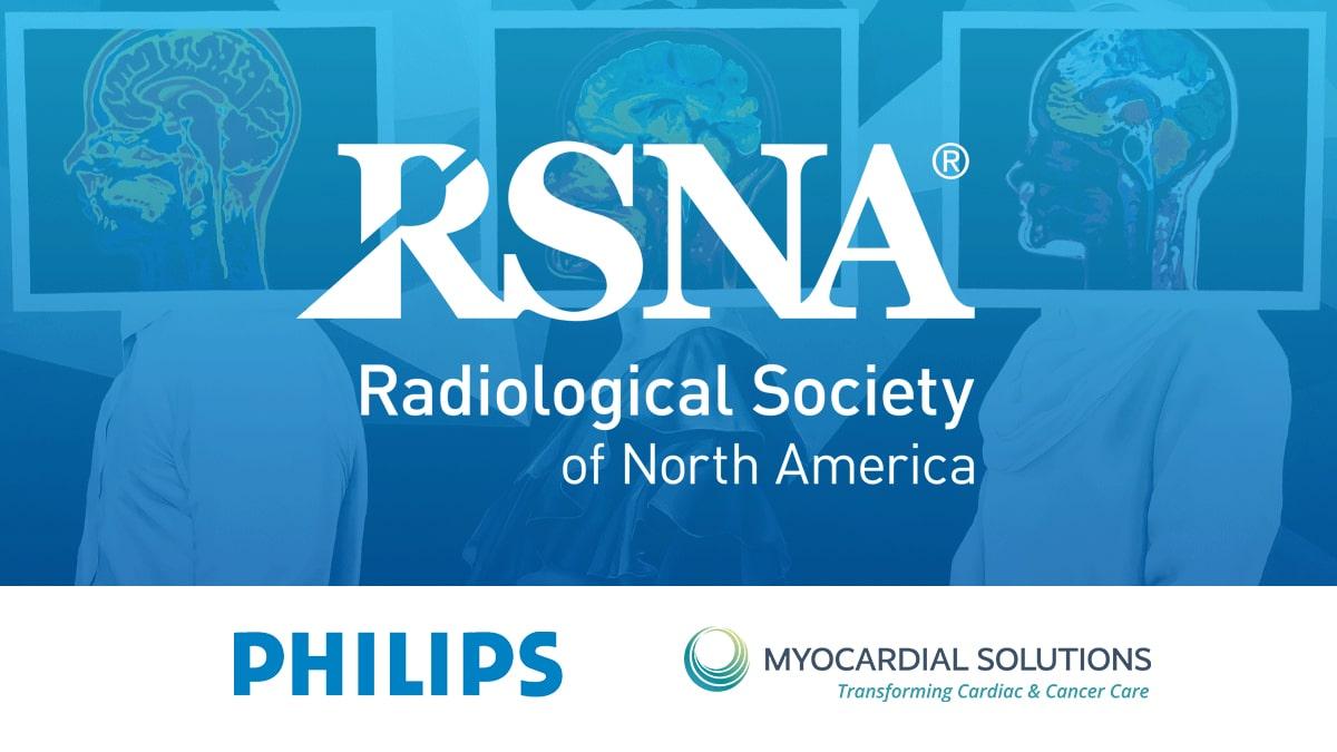 Philips healthcare presents MyoStrain at RSNA 2020