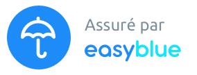 assuré par easyblue -15 euros