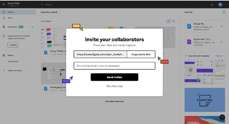 Figma dgitags invite collaborators