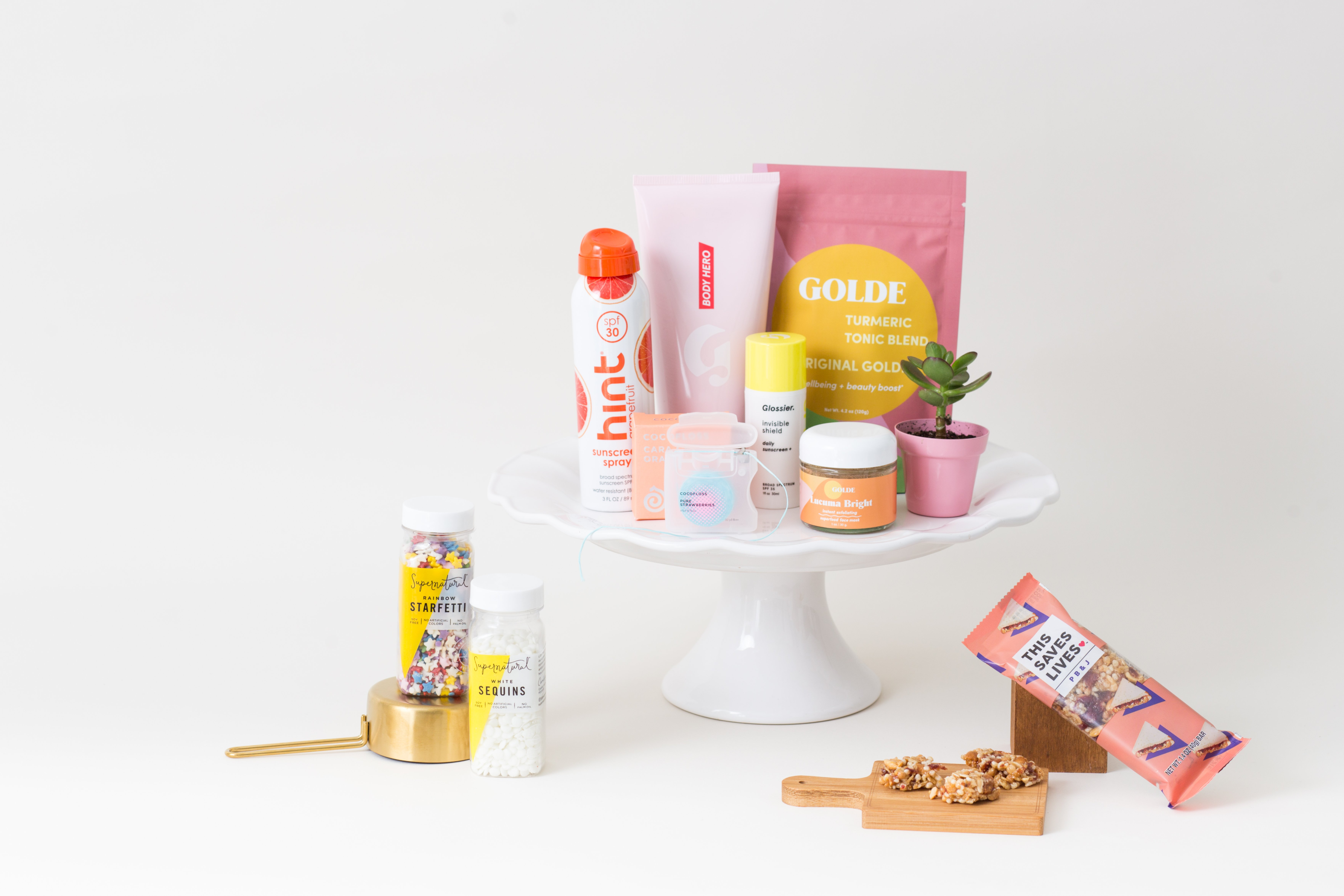 A peek at some products you can shop through Dough.