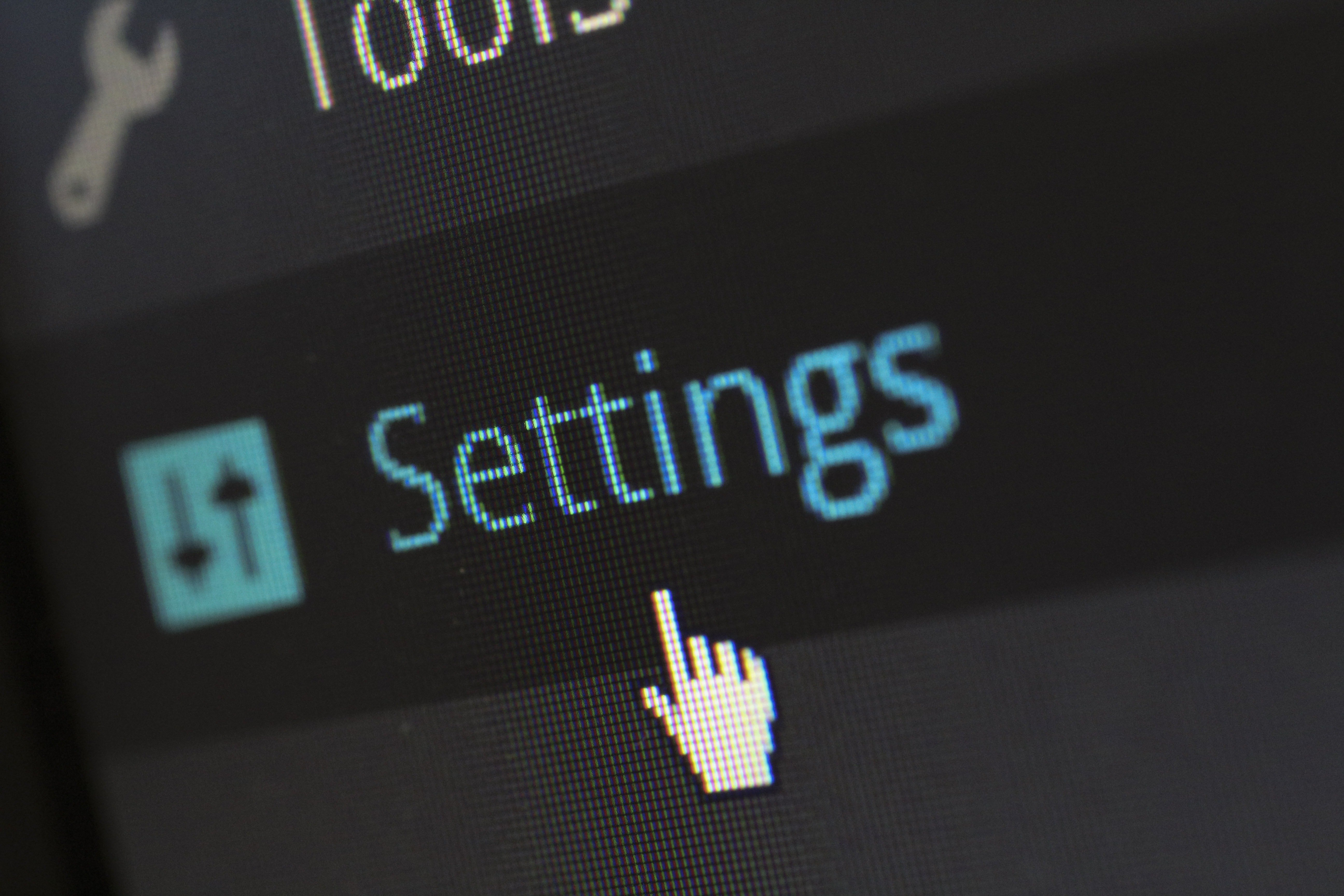 Website settings to increase security