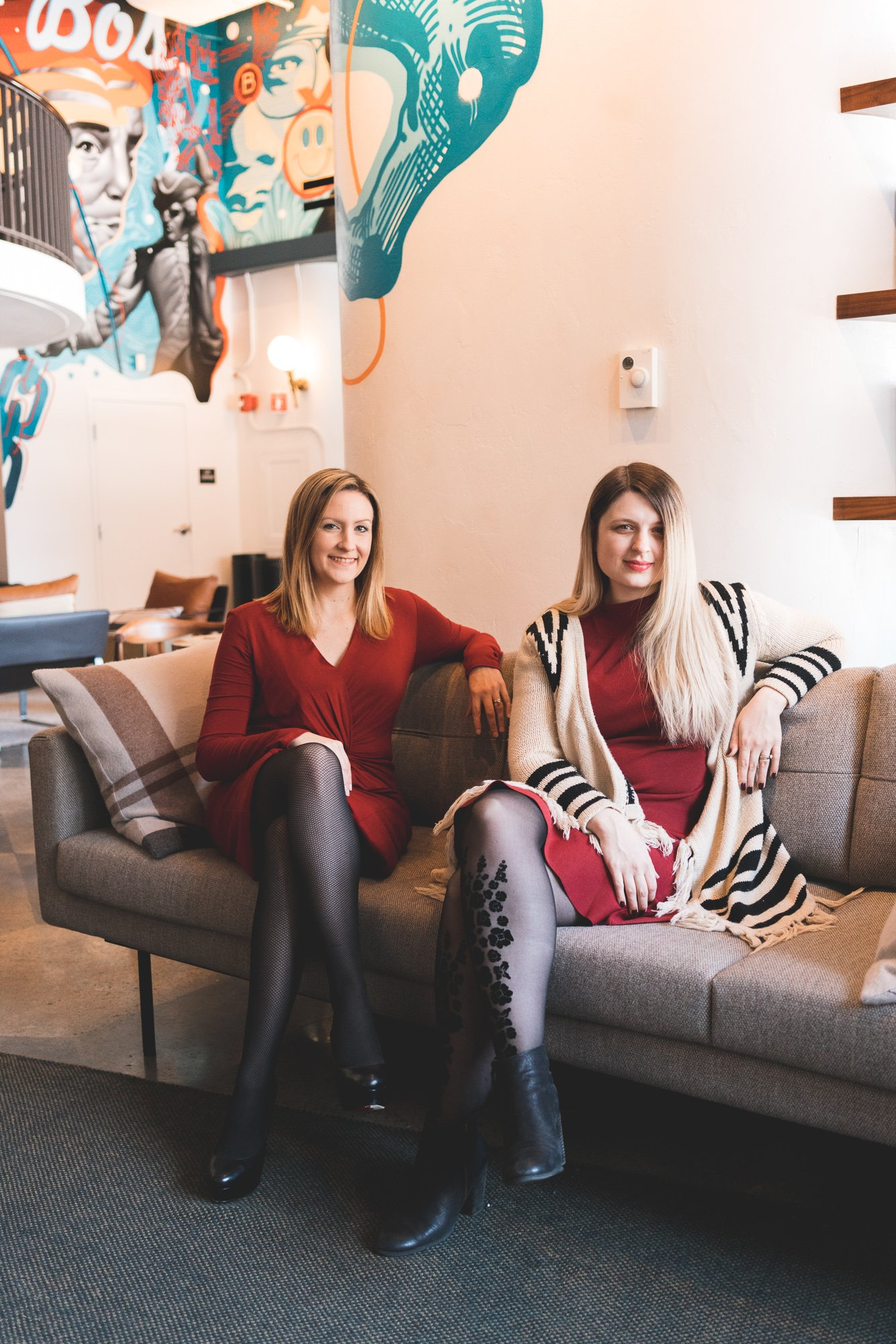 Anna and Vanessa, founders of Dough