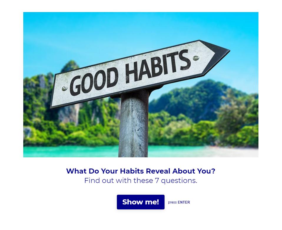 Habit Quiz from Excelerate America