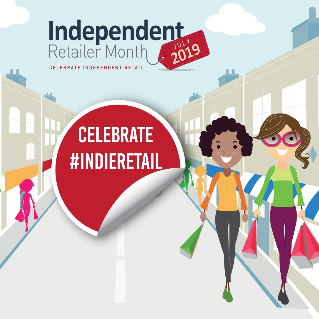 Independent Retailer Month Social Media Animated Post