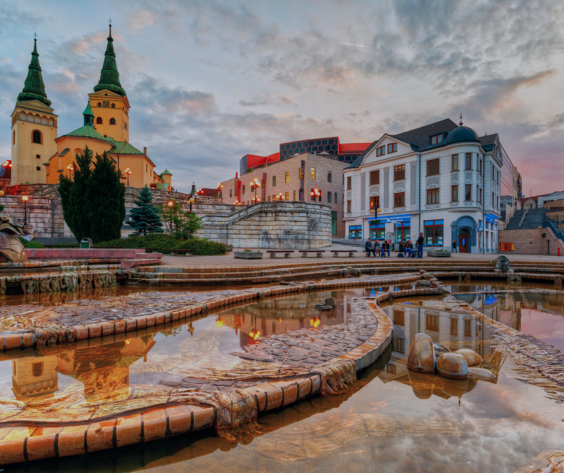 Zilina Main Square City Goodrequest
