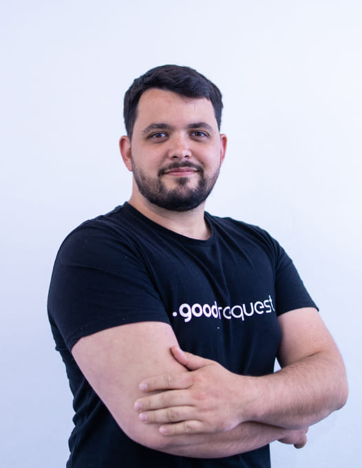 Business Manager Martin Macik Goodrequest