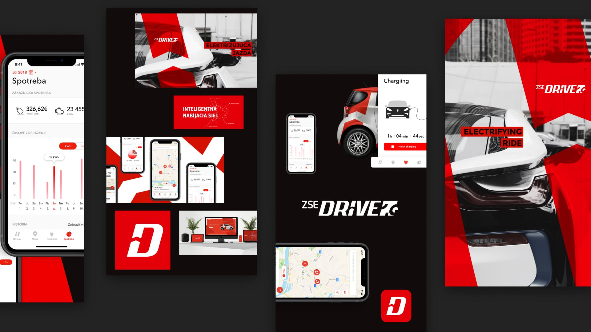 ZSE drive mobile application and web application