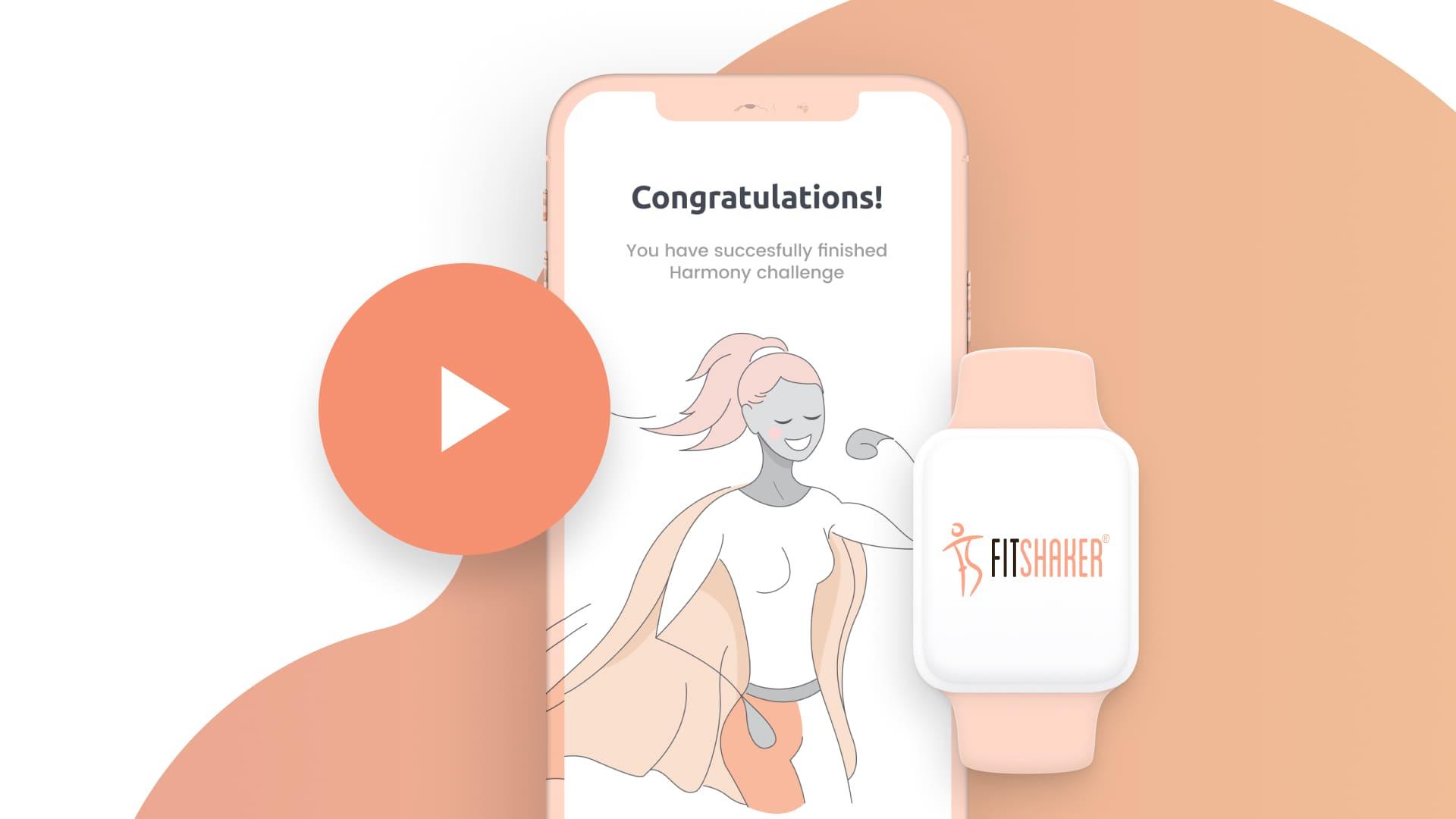 Fitshaker webová aplikácia pre domáce cvičenie | web application for home fitness
