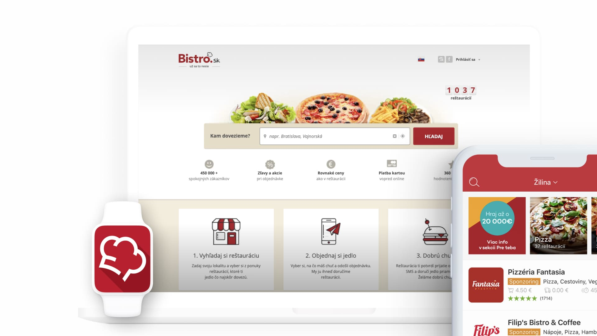 bistro.sk application by goodrequest