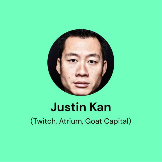 Episode 3: Justin Kan (Twitch, Atrium), Joanna Lee Shevelenko (Atrium, F7 Ventures)
