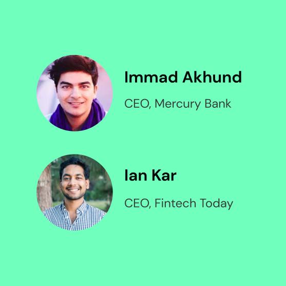 Episode 4: Fintech secrets (Immad Akhund, Ian Kar)